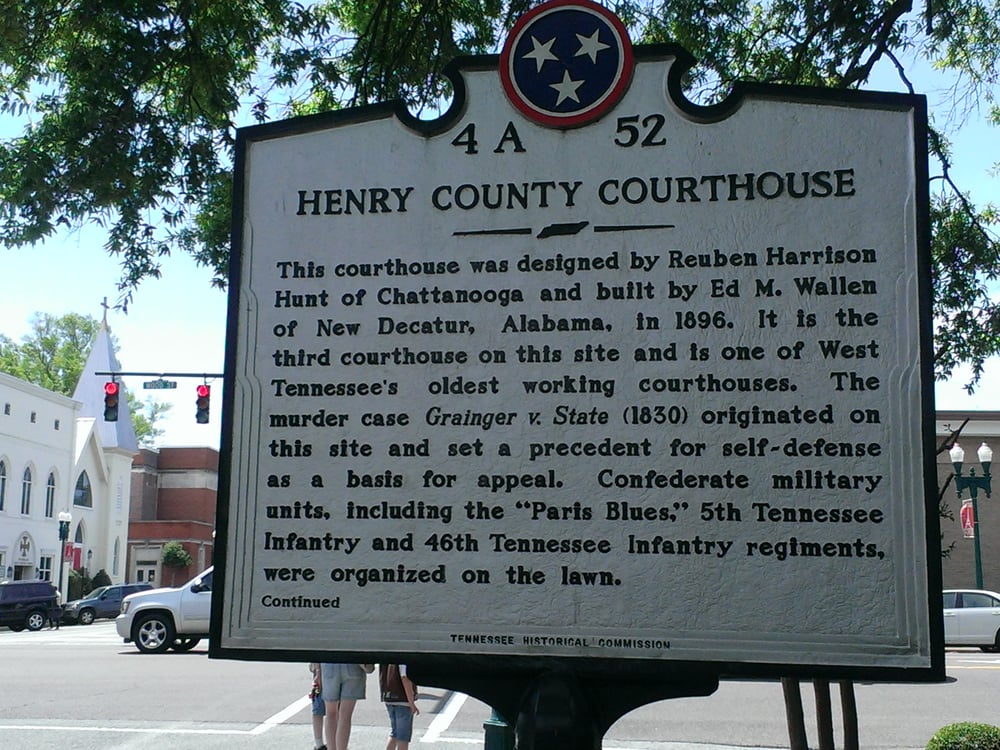 Henry county history official site of henry county tn henry county courthouse circa 1890 henry county courthouse during early 1900s sciox Choice Image